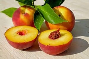 Colorado peach cobbler courtesy of pixabay