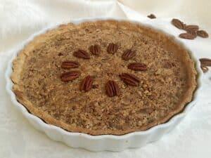 Oklahoma pecan pie courtesy of Pixabay