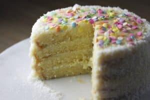 South Carolina Coconut cake courtesy of Pixabay