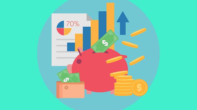 saving-money-piggybank-dollar-bills-arrows