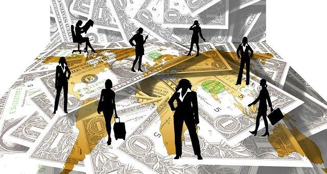 women-money-background