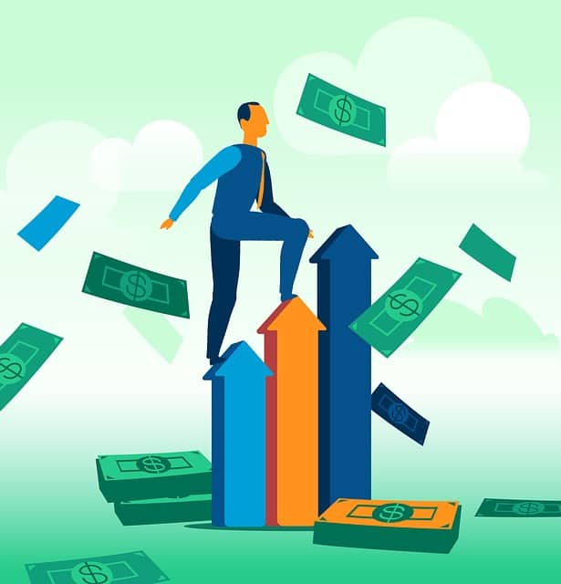 jobs-that-pay-well-in-dollars-man-climbing-up-