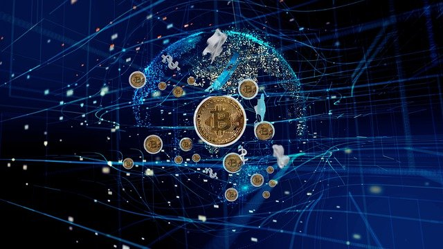 cryptocurrencies-in-a-blue-universe